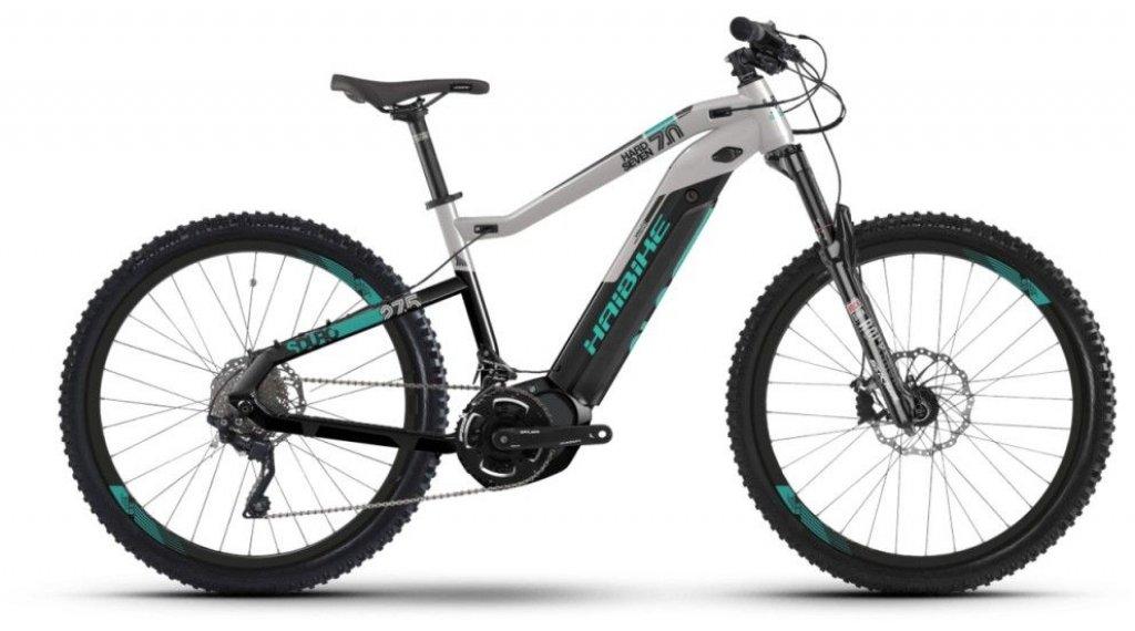 "Haibike SDURO HardSeven 7.0 500Wh 27.5""/650B MTB E-Bike bici completa tamaño M negro/gris/türkis Mod. 2019"