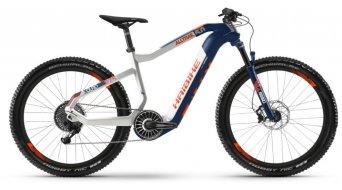 "Haibike XDURO AllTrail 5.0 27.5""Flyon MTB E-Bike Komplettrad blau/weiß/orange Mod. 2020"
