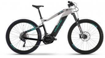 "Haibike SDURO HardNine 7.0 500Wh 29"" MTB E-Bike Komplettrad schwarz/grau/türkis Mod. 2019"