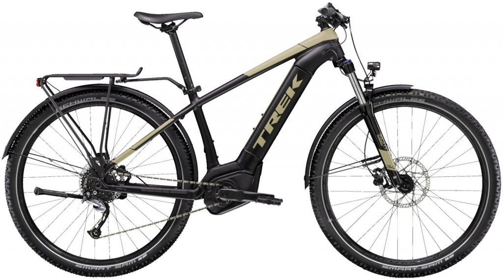 "Trek Powerfly 4 Sport Equipped 29"" MTB E-Bike Komplettrad Gr. M matte trek black/quicksand Mod. 2020"