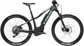 "Trek Powerfly 7 WSD 650B/27.5"" MTB E- bike bike ladies version mat Trek black/sprintmint 2018"