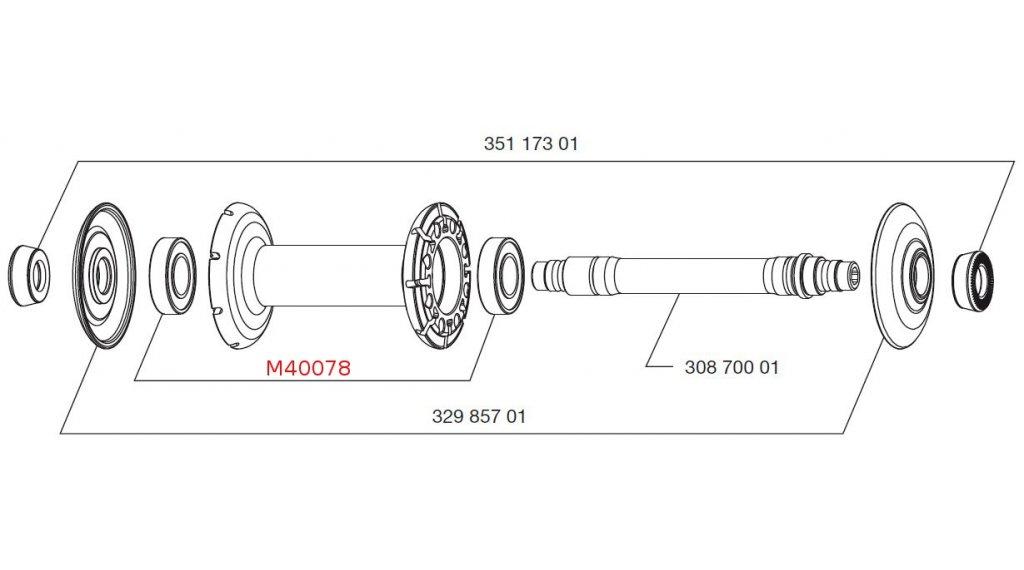 Mavic kit cuscinetti per mozzo m40078 anteriore comprare for Kit per il portico anteriore
