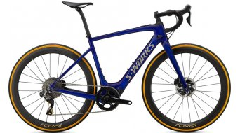 "Specialized S-Works Turbo Creo SL Founders Edition 28"" Rennrad E-Bike Komplettrad Gr. S spectral blue brushed gold Mod. 2020"