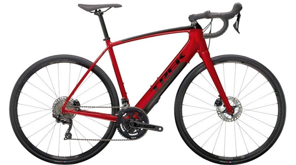 "Trek Domane+ ALR 28"" E-Bike bici carretera bici completa tamaño 56cm crimson rojo/trek negro Mod. 2021"