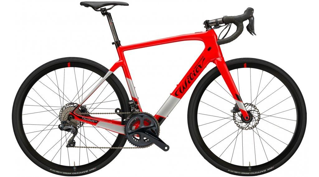 Wilier Cento1 Hybrid 28 E-Bike bici carretera bici completa Shimano Ultegra Di2 / Wilier NDR30AC tamaño XS rojo glossy Mod. 2021
