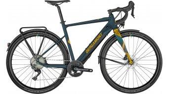 Bergamont E-Grandurance RD Expert 28 E-Bike Gravel bici completa . dark petrol/oro mod. 2021