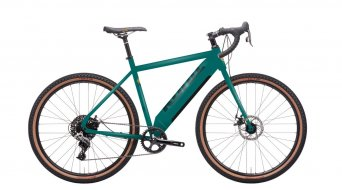 "KONA Rove NRB HD 27.5"" E-Bike Gravel bici completa . gloss satin verde mod. 2022"
