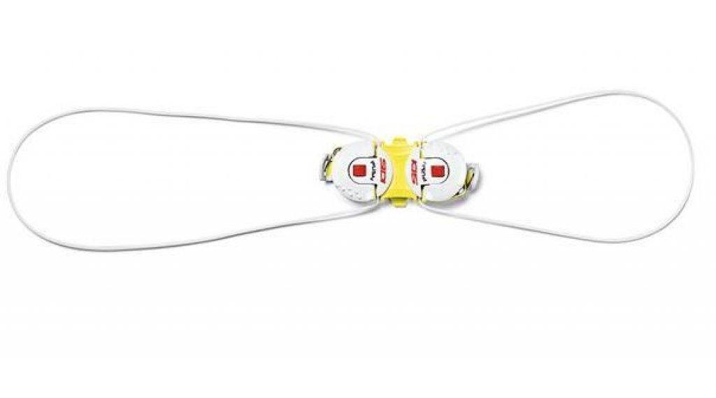 Sidi Double Tecno-3 System Drehverschluss yellow/white