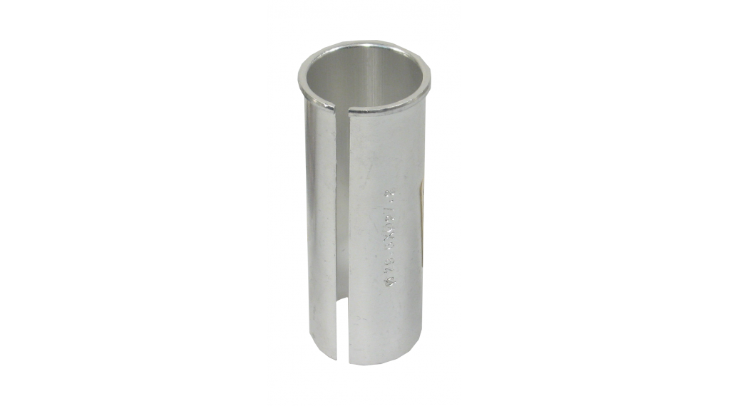 Sattelrohrreduzierhülse 29,6 auf 27,2 Aluminium