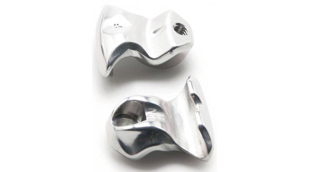 PRO Sattelstützen Klemmeinsatz einfachschraub silver (2 Stk)