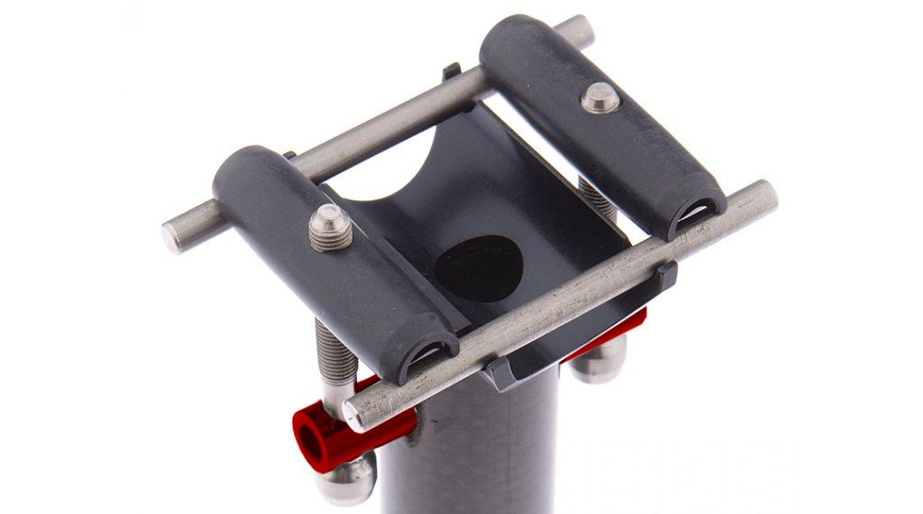 Tune Ersatzteil Sattelstützbalken 10,5mm für 27.2/31.4/31.6/31.8mm silber (1 Stück)