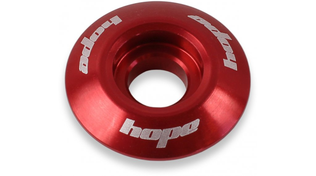 "Hope headset spare parts A-Head cap 1 1/8"" red"