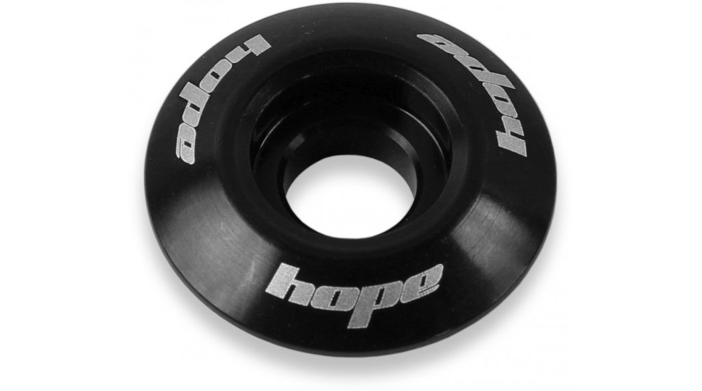"Hope headset spare parts A-Head cap 1 1/8"" black"