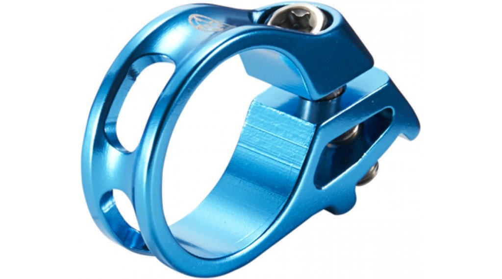 Reverse Triggerklemme für Sram light blue