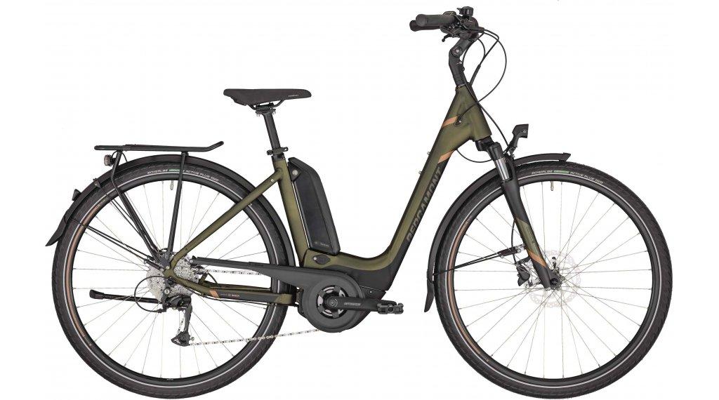 "Bergamont E-Horizon 6 500 Wave 26"" E-Bike Trekking Komplettrad Gr. 44 cm dark olive green/black/copper (matt) Mod. 2020"