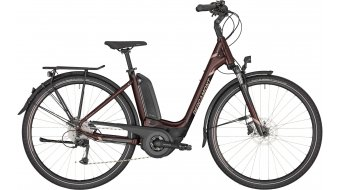 "Bergamont E-Horizon 6 400 Wave 26"" E-Bike Trekking Komplettrad Gr. 44 cm aubergine/black/rosé (shiny) Mod. 2020"