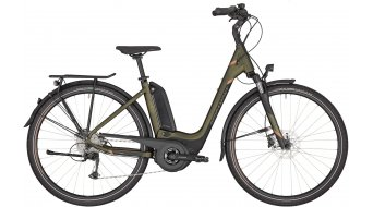 Bergamont E-Horizon 6 500 Wave e-bike trekking fiets cm dark olive green/black/copper (mat) model 2020
