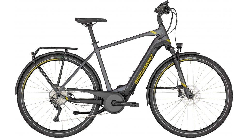 "Bergamont E-Horizon Expert 600 Gent 28"" E-Bike Trekking 整车 型号 48厘米 anthracite/black/金色 (matt) 款型 2020"