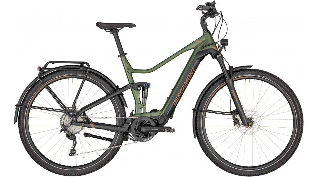 "Bergamont E-Horizon FS Expert 600 28"" E-Bike Trekking Komplettrad Gr. 46 cm pale green/black/copper (matt) Mod. 2020"