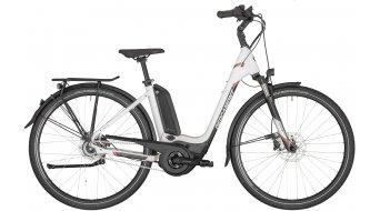 "Bergamont E-Horizon N8 FH 500 Wave 28"" E-Bike Trekking Komplettrad cm white/black/rosé (shiny) Mod. 2020"