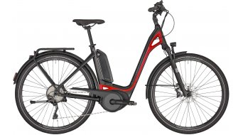 "Bergamont E-Ville Elite 28"" E- bike Urban bike size 48 cm black/red (matt/shiny) 2020"