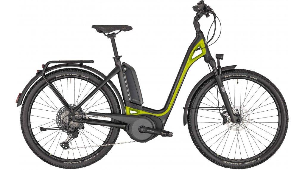"Bergamont E-Ville SUV 28"" E-Bike Urban Komplettrad Gr. 48 cm black/lime green metallic (matt) Mod. 2020"