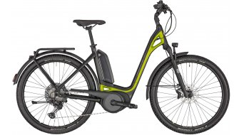 "Bergamont E-Ville SUV 28"" e-bike enrban fiets cm black/lime green metallic (mat) model 2020"