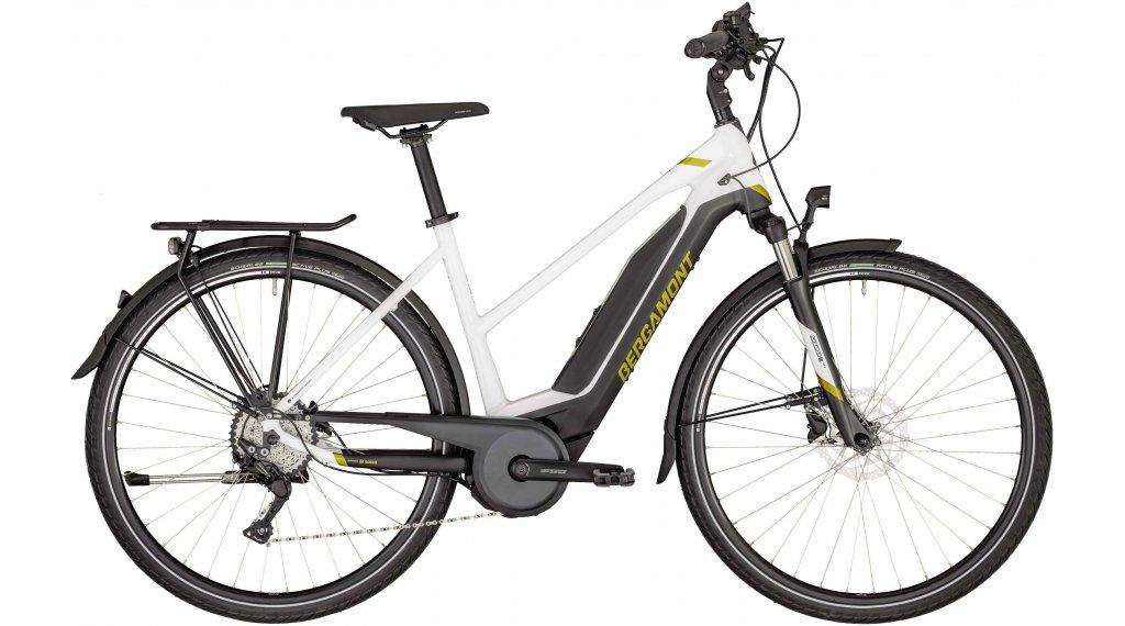 """Bergamont E-Horizon 7 Lady 28"""" E-Bike trekking Damenkomplettrad mis. 44 cm white/black/oro (opaco/shiny) mod. 2020"""
