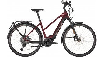 "Bergamont E-Horizon Elite Speed Lady 28"" E-Bike Trekking Damenkomplettrad cm burgundy red/black/rosé (matt) Mod. 2020"