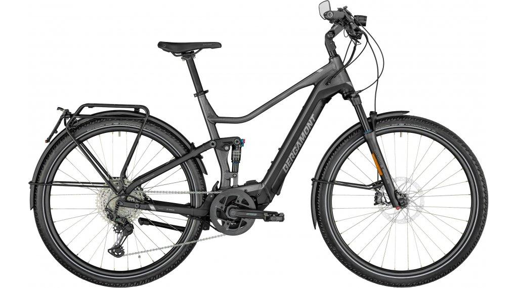 "Bergamont E-Horizon FS Elite Speed 28"" E-Bike Komplettrad Gr. 46cm flaky silver/black/chrome Mod. 2022"