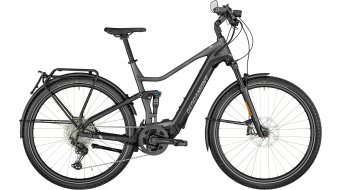 Bergamont E-Horizon per Elite Speed 28 E-Bike trekking bici completa . flaky argento/nero/chrome mod. 2021