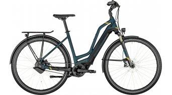 Bergamont E-Horizon Pro öv Amsterdam 28 elektromos kerékpár Trekking komplett kerékpár Méret 48cm sötét petrol/black 2021 Modell