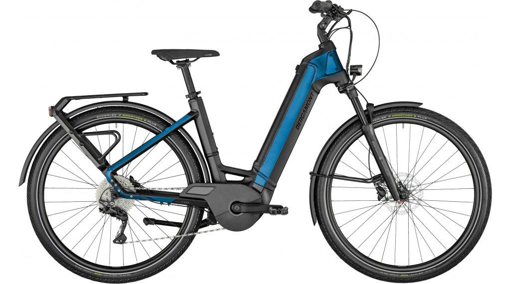 Bergamont E-Ville Edition 28 E-Bike Urban bici completa tamaño 46cm negro/pacific azul Mod. 2021