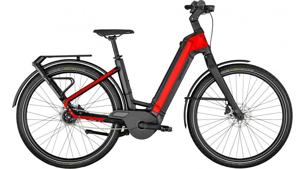 """Bergamont E-Ville Expert Rigid 28"""" E-Bike Urban Komplettrad Gr. 58cm black/red Mod. 2021"""