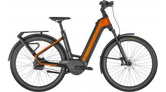 Bergamont E-Ville Pro öv Premium 28 elektromos kerékpár Urban komplett kerékpár black/dirty narancs 2021 Modell