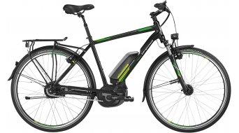 Bergamont E-Line C N330 400 Gent 28 E-Bike Trekking Komplettbike Herren-Rad black/green/lime/white Mod. 2016