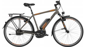 Bergamont E-Line C N380 Harmony 500 Gent 28 E-Bike Trekking Komplettbike Herren-Rad Gr. 56cm lava grey/orange/black Mod. 2016