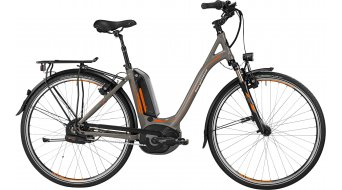 Bergamont E-Line C N380 Harmony 500 Wave 28 E- bike trekking bike Unisex-wheel lava grey/orange/black 2016