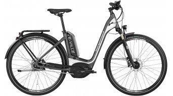 Bergamont E-Ville C A8 500 28 elektromos kerékpár Trekking komplett kerékpár Unisex-Rad Méret 56cm engine grey/pearl white 2016 Modell