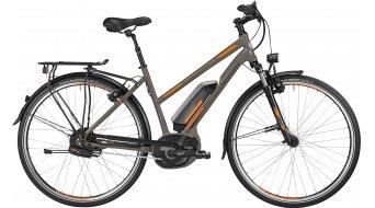 Bergamont E-Line C N380 Harmony 400 Lady 28 elektromos kerékpár Trekking komplett kerékpár női-Rad lava grey/narancs/black 2016 Modell