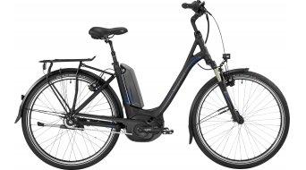 Bergamont E-Horizon N8 FH 400 Wave 26 26 Trekking elektromos kerékpár komplett kerékpár Unisex Méret 44cm black/blue (matt/shiny) 2017 Modell