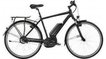 Bergamont E-Horizon N330 Gent 28 Trekking elektromos kerékpár komplett kerékpár black/petrol (matt/shiny) 2017 Modell