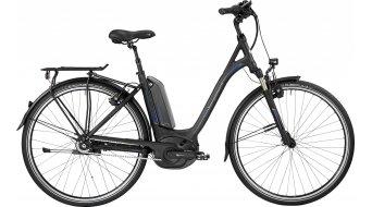 Bergamont E-Horizon N8 FH 400 Wave 28 Trekking E-Bike Komplettbike Unisex black/blue (matt/shiny) Mod. 2017