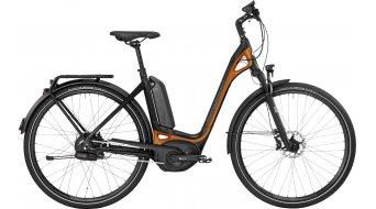 Bergamont E-Ville N380 Harmony 28 Urban E-Bike Komplettbike Unisex black/orange (matt/shiny) Mod. 2017