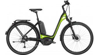 Bergamont E-Ville Deore 28 Urban E-Bike Komplettbike Unisex black/lime (matt/shiny) Mod. 2017