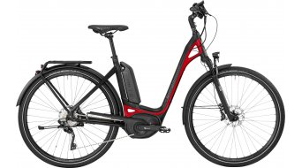 Bergamont E-Ville XT 28 Urban E- bike bike Unisex black/red (matt shiny) 2017