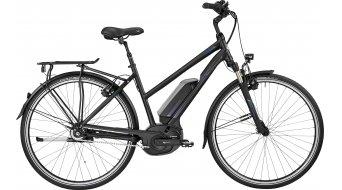 Bergamont E-Horizon N8 FH 400 Lady 28 Trekking E-Bike Komplettbike Damen-Rad black/blue (matt/shiny) Mod. 2017