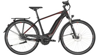 "Bergamont E-Horizon N8 FH 500 Gent 28"" e-bike Gr. 48cm black/dark silver/red (mat) model 2018"