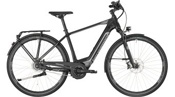 "Bergamont E-Horizon Ultra Gent 28"" E-Bike bici completa . black/dark silver/chrome (opaco/shiny) mod. 2018"