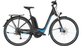 Bergamont E-Horizon 7.0 Wave E- bike bike black/cyan/silver (matt) 2018